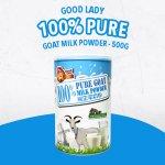100% Pure Goat Milk Powder - 500g