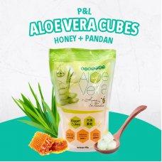 Pandan Honey Aloe Vera Cubes 400g